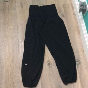 Baggy exercise pants